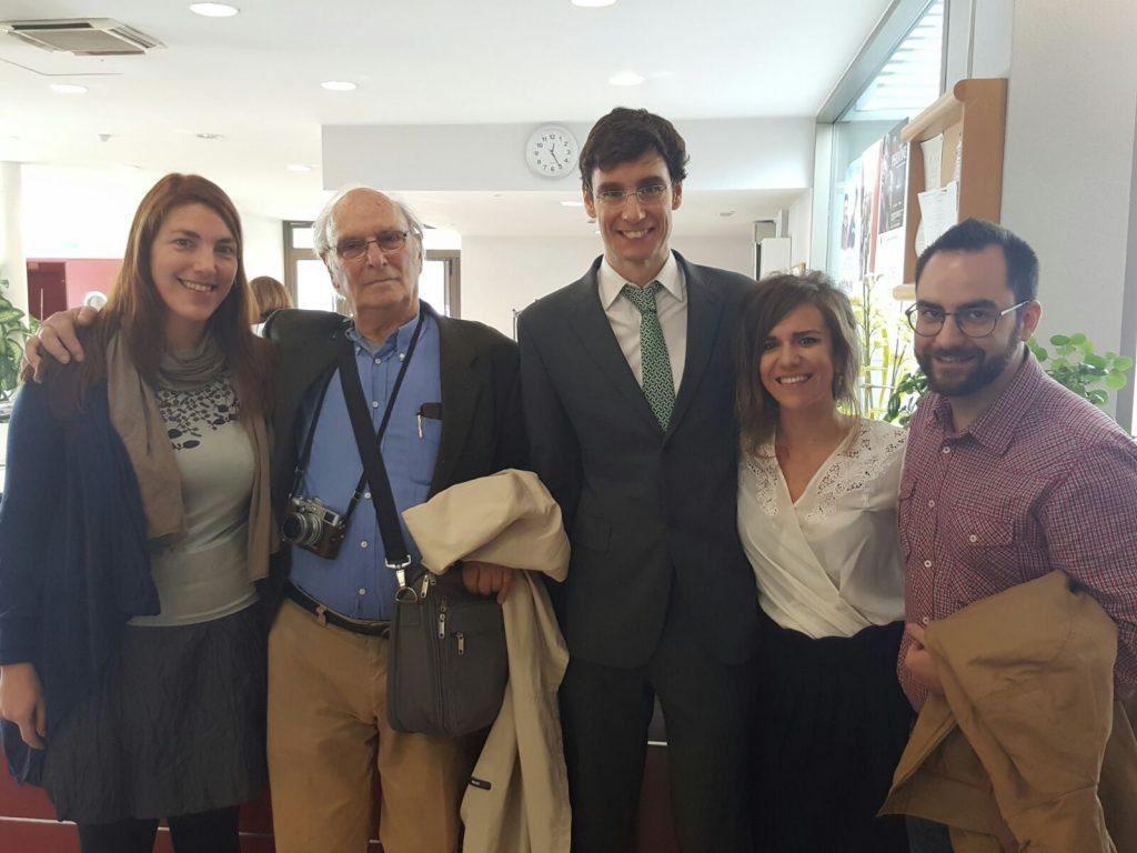 Florencia Claes, Carlos Saura, Luis Deltell Marta García Sahagún, Ignacio Sánchez