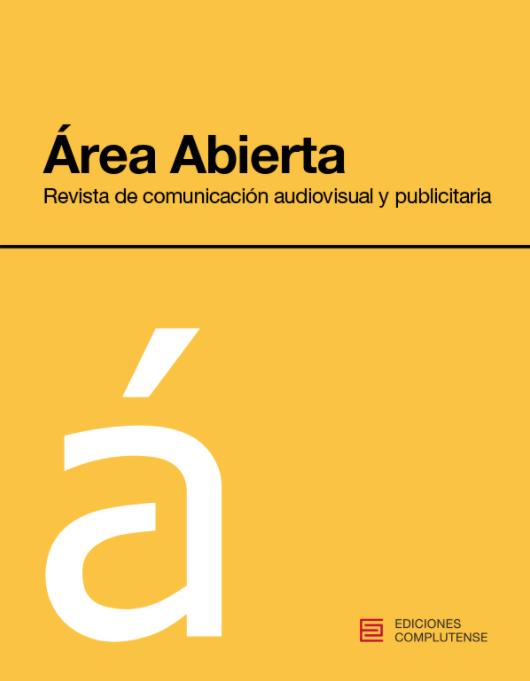 portada revista académica Área Abierta