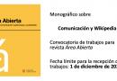 Monográfico Wikipedia